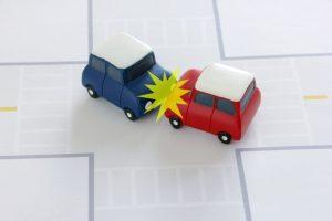 交通事故発生の画像